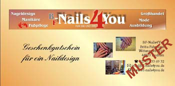 Naildesign-Gutschein